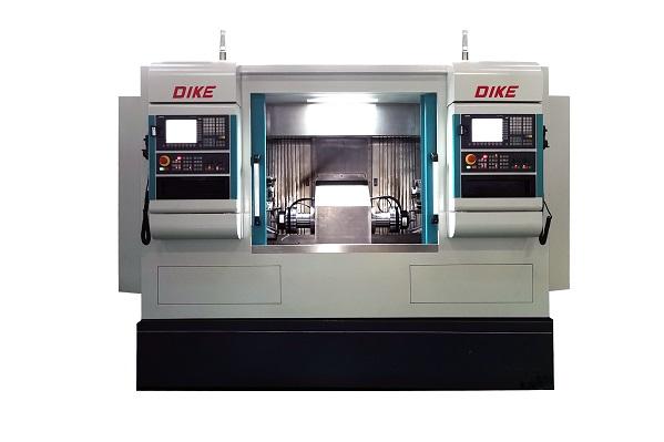 DKCK-DE1200 double head lathe