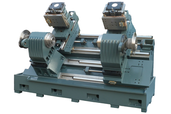 Double spindle, double turret, double Y axis