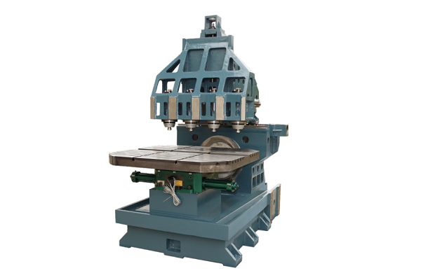 Four-spindle double-table machining center