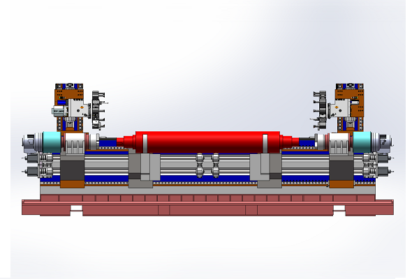 Double spindle compound turning center